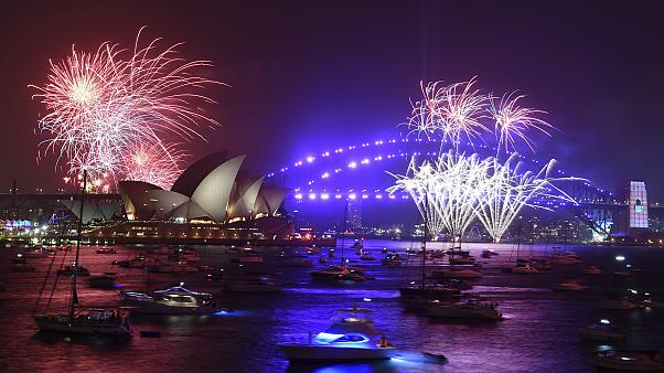 Happy New Year Australia! Sydney welcomes in 2020 with celebratory fireworks