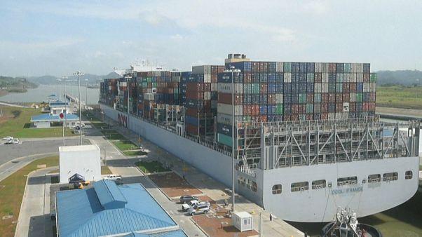 A água está a sumir-se no Canal do Panamá