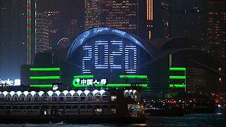 O mundo dá as boas-vindas a 2020