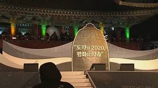 North and South Korea welcome in the new decade