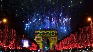 احتفالات السنة الجديدة في باريس
