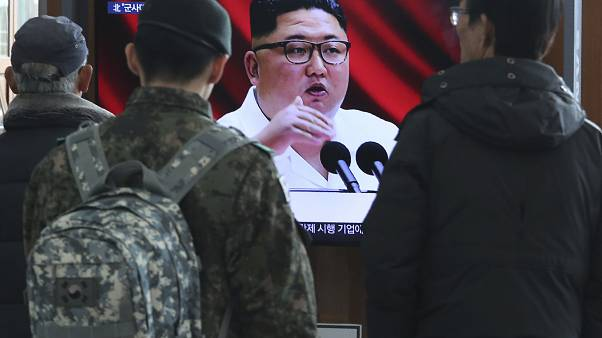 North Korean leader warns country will show new strategic weapon