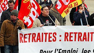 Manifestation à Bayonne (France) le 28 décembre 2019