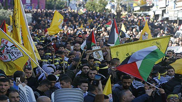 احتفالات ذكرى تأسيس حركة فتح في غزة