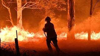 Avustralya, yangından kaçanları askeri gemi ve uçaklarla tahliye ediyor