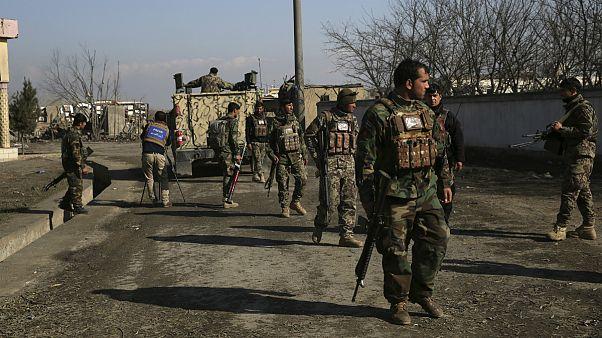 نیروهای امنیتی افغانستان