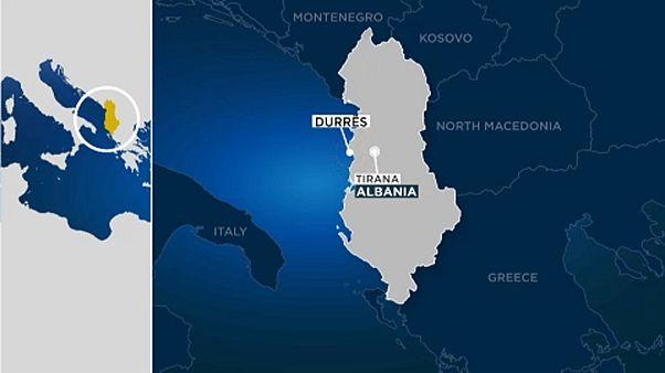 Közepes erősségű földrengés volt Albániában