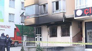 4 погибших при пожаре в Анкаре