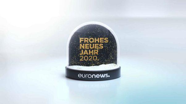 Euronews wünscht ALLES GUTE für 2020!