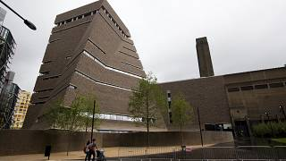 The Tate Modern gallery in London, Britain.