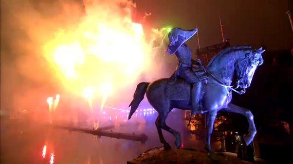 جشنهای سال نو در اروپا؛ کرواسی آغاز ریاست بر اتحادیه را هم جشن گرفت