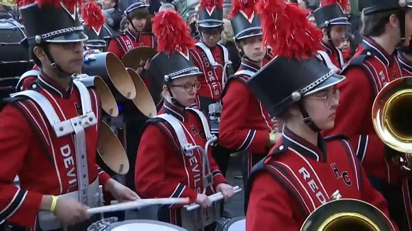 Watch: Rome holds special parade to welcome in the new year