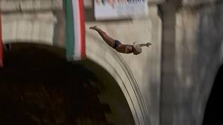 Grandfather, 68, among New Year's Day divers into Rome's River Tiber
