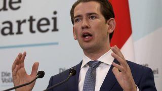 Sebastian Kurz head of the Austrian People's Party
