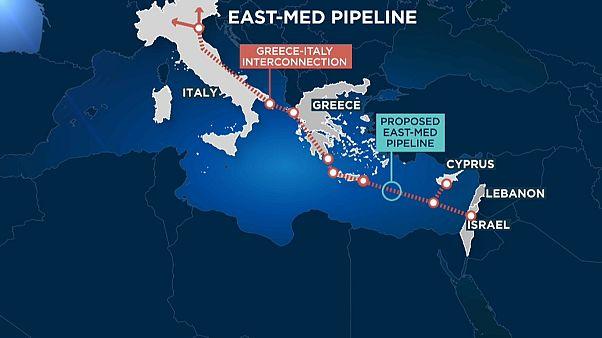 İsrai, Kıbrıs ve Yunanistan arasında doğal gaz boru hattı anlaşması imzalandı