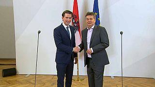 Acordo de governo na Áustria