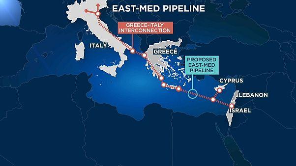 Grécia, Israel e Chipre lançam projeto EastMed