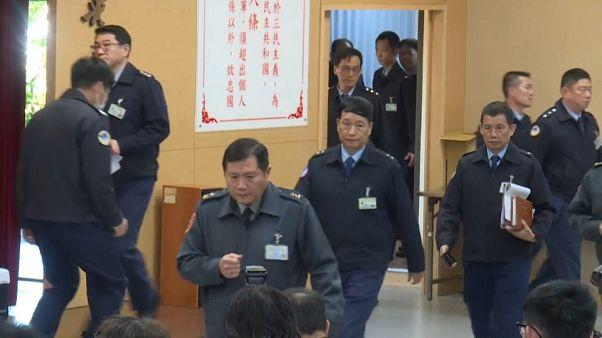 مؤتمر صحفي في تايوان حول حادث تحطم المروحة العسكرية/ صورة توضيحية