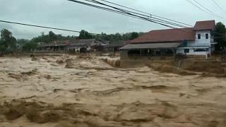 Flash floods kill more than 20 in Indonesia's capital Jakarta and the surrounding regions