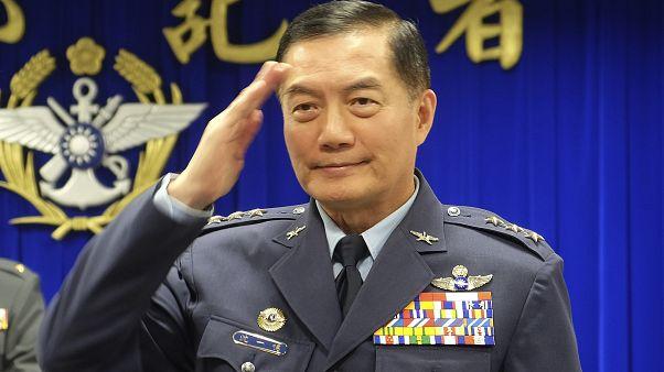 Taiwanese Deputy Defense Minister Shen Yi-ming