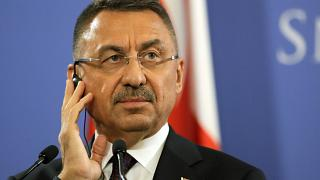 O αντιπρόεδρος της Τουρκίας, Φουάτ Οκτάι