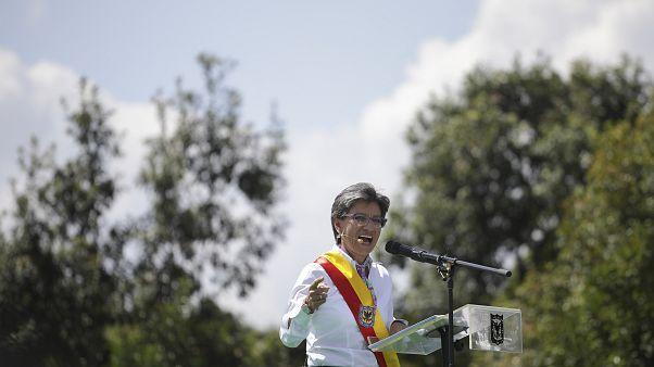 Claudia Lopez investie à Bogota : la première femme maire homosexuelle de la capitale colombienne