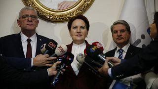 İYİ Parti Genel Başkanı Meral Akşener Libya tezkeresine hayır oyu vereceklerini açıkladı