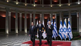 """توقيع اتفاق خط أنابيب """"شرق المتوسط"""" بين اليونان وإسرائيل وقبرص"""