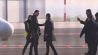Football : Zlatan Ibrahimovic est arrivé à Milan
