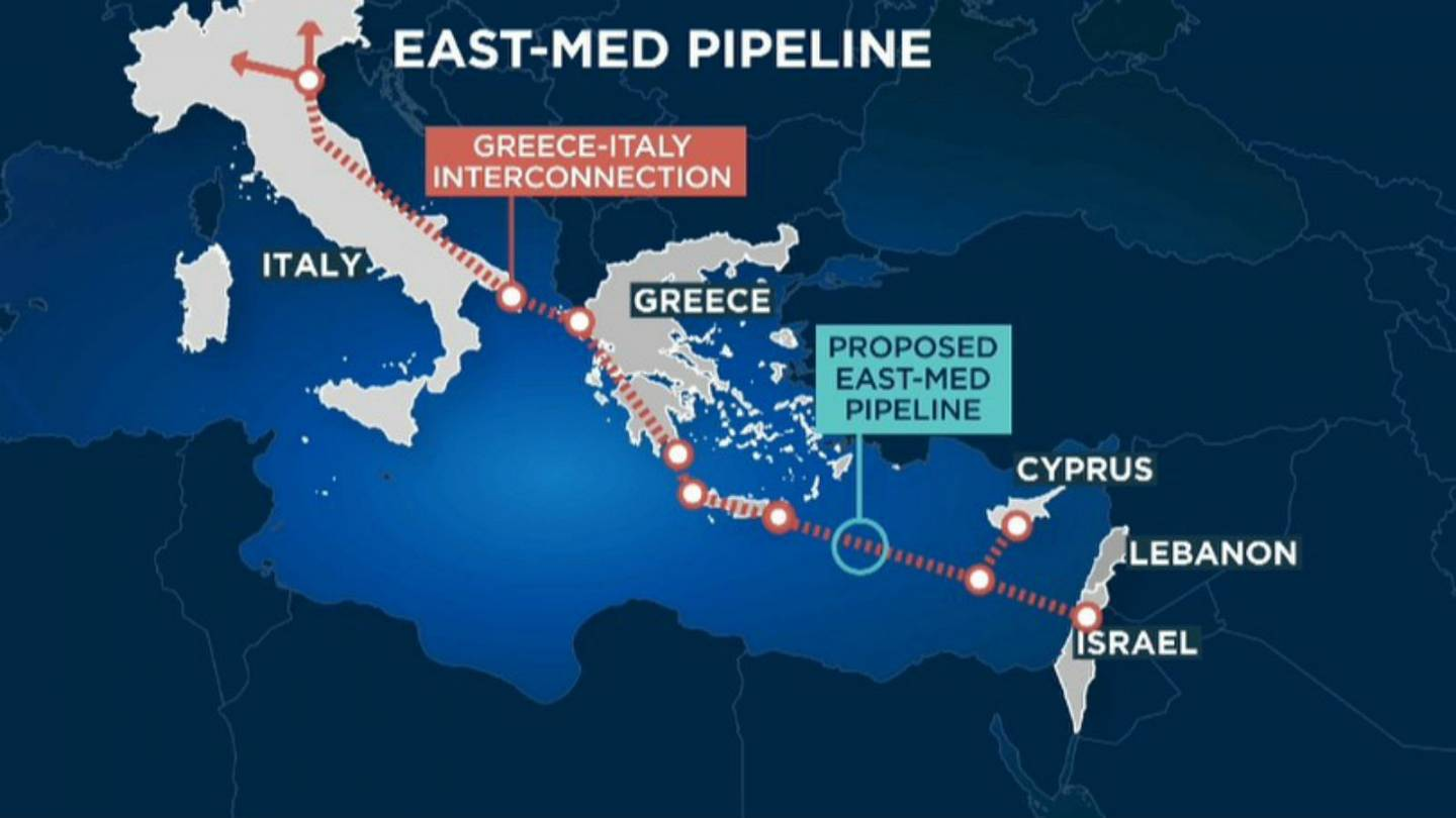 Israel, Greece and Cyprus sign deal for EastMed gas pipeline | Euronews