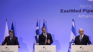Έντονη αντίδραση της Τουρκίας για τον EastMed