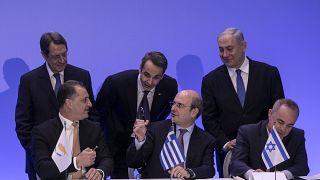 Grecia, Israel y Chipre acuerdan la construcción de un gaseoducto submarino en el Mediterráneo