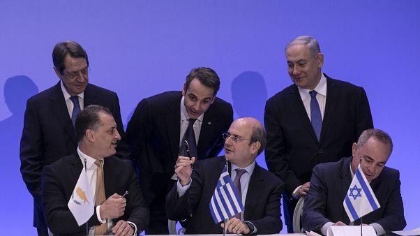 Novo gasoduto no leste do Mediterrâneo