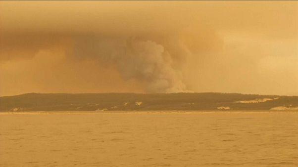 Incendies en Australie : les évacuations se poursuivent