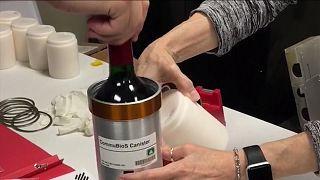 Viskiden sonra şarap da iklim krizi araştırmaları kapsamında uzaya çıktı