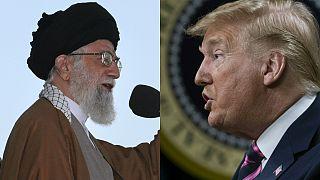 İran lideri Ali Hamaney / ABD Başkanı Donald Trump