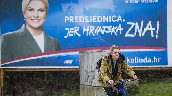 Présidentielle en Croatie : vers un second tour indécis