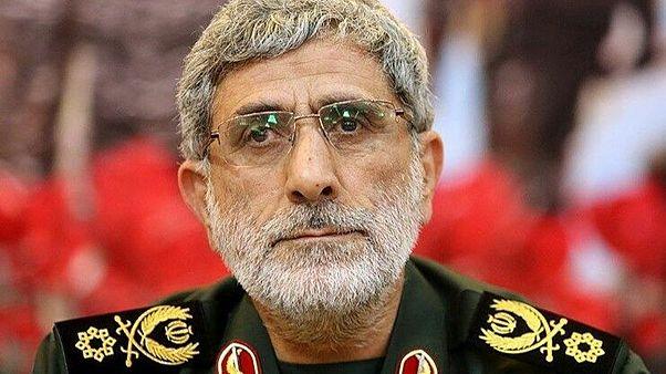 قائد فيلق القدس إسماعيل قاآني الذي عيّن خليفة لقاسم سليماني