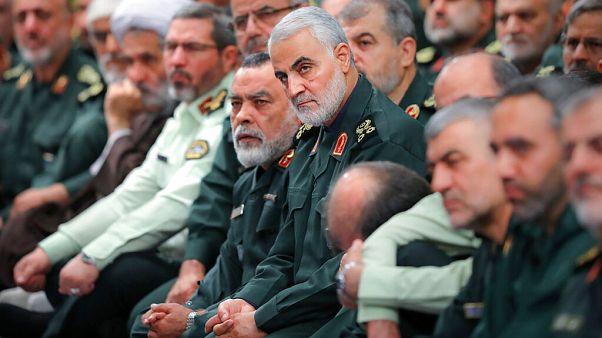 İran Devrim Muhafızları Ordusu'na (DMO) bağlı Kudüs Gücü Komutanı General Kasım Süleymani