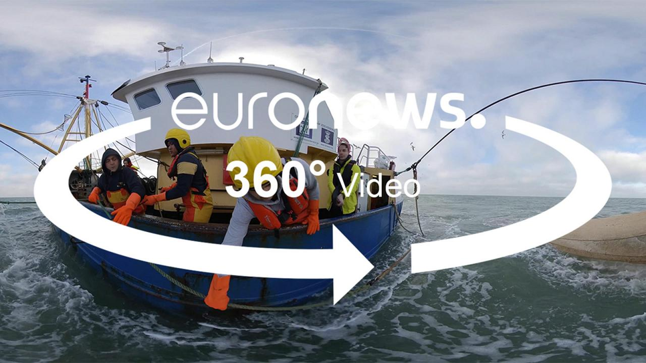 360° video: how Belgium is training the fishermen of tomorrow