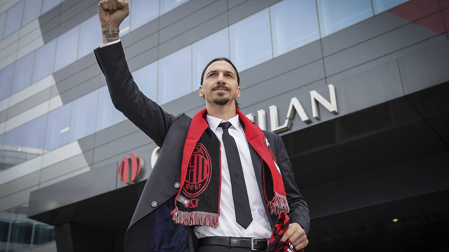 Zlatan Ibrahimovic: 'I'm looking for a last bit of adrenaline' with AC  Milan | Euronews