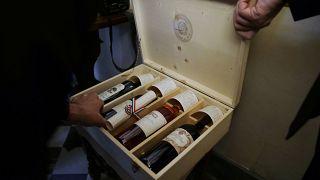 صندوق نبيذ