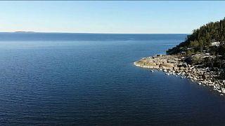 Barris tóxicos no fundo do mar na Suécia