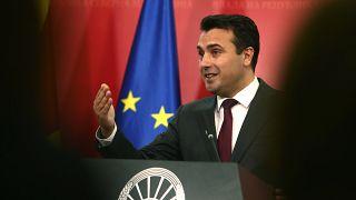 O πρωθυπουργός της Βόρειας Μακεδονίας, Ζόραν Ζάεφ