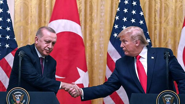 Erdogan und Trump im November in Washington
