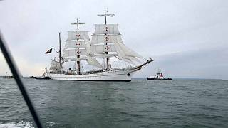 Navio-escola Sagres reedita circum-navegação de Fernão de Magalhães