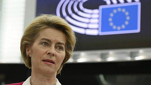 أورسولا فون دير لاين رئيسة المفوضية الأوروبية