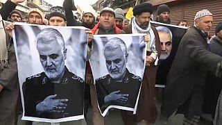 Manifestations de colère après la mort de Qassem Soleimani