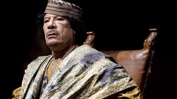 Libya'nın 2011 yılında öldürülen lideri Muammer Kaddafi