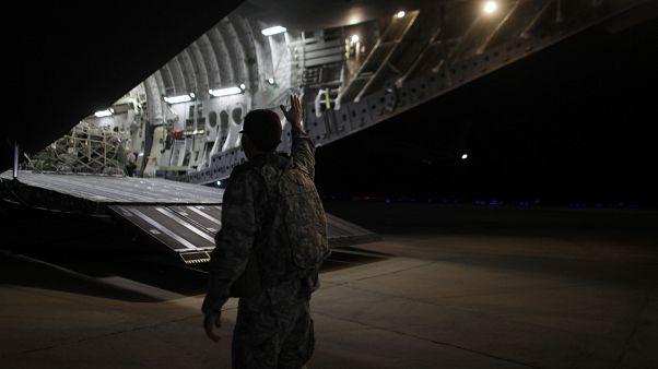تصویری از نیروهای آمریکایی در عراق در سال ۲۰۱۱